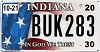 2020 Indiana In God We Trust #BUK283