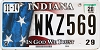 2020 Indiana In God We Trust #WKZ569