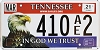 2021 Tennessee In God We Trust #410AE2