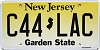 New Jersey Garden State graphic #C44-LAC