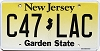 New Jersey Garden State graphic #C47-LAC