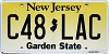 New Jersey Garden State graphic #C48-LAC