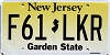 New Jersey Garden State graphic #F61-LKR
