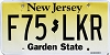 New Jersey Garden State graphic #F75-LKR