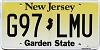 New Jersey Garden State graphic #G97-LMU