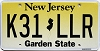 New Jersey Garden State graphic #K31-LLR