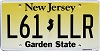 New Jersey Garden State graphic #L61-LLR