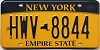 New York Empire State # HWV-8844