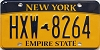 New York Empire State # HXW-8264