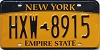 New York Empire State # HXW-8915
