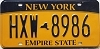 New York Empire State # HXW-8986
