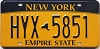 New York Empire State # HYX-5851