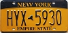 New York Empire State # HYX-5930