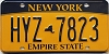 New York Empire State # HYZ-7823