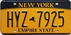 New York Empire State # HYZ-7925