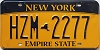 New York Empire State # HZM-2277