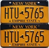 New York Empire State pair # HTU-5765