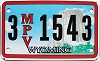 Wyoming Multi Purpose Vehicle (MPV) # 1543, Sheridan County