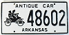 Arkansas Antique Car # 48602