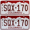2016 Colorado Fleet graphic pair # SQX-170