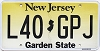 New Jersey Garden State graphic # L40-GPJ