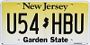 New Jersey Garden State graphic # U54-HBU