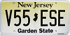 New Jersey Garden State graphic # V55-ESE