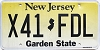 New Jersey Garden State graphic # X41-FDL