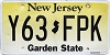 New Jersey Garden State graphic # Y63-FPK