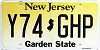 New Jersey Garden State graphic # Y74-GHP