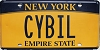 New York Empire State Vanity # CYBIL