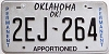 Oklahoma Permanent Apportioned # 2EJ-264