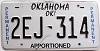 Oklahoma Permanent Apportioned # 2EJ-314