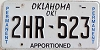 Oklahoma Permanent Apportioned # 2HR-523