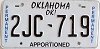 Oklahoma Permanent Apportioned # 2JC-719