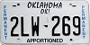 Oklahoma Permanent Apportioned # 2LW-269