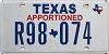 Texas Apportioned # R98-074