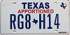 Texas Apportioned # RG8-H14