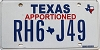 Texas Apportioned # RH6-J49