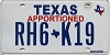 Texas Apportioned # RH6-K19
