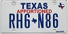 Texas Apportioned # RH6-N86