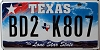 Texas Lone Star State graphic # BD2-K807