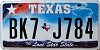 Texas Lone Star State graphic # BK7-J784