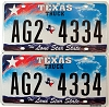 Texas Truck Lone Star State graphic pair # AG2-4334