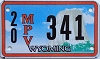 Wyoming Multi Purpose Vehicle (MPV) # 341, Washakie County