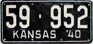 1940 Kansas # 952, Stafford County