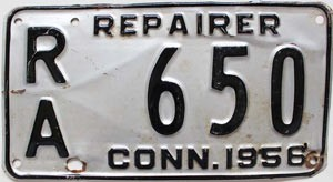 1956 Connecticut Repairer # 650