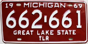 1969 Michigan Trailer # 662-661
