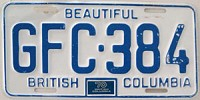 1970 British Columbia # GFC-384