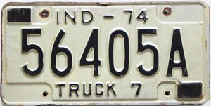 1974 Indiana Truck # 56405A